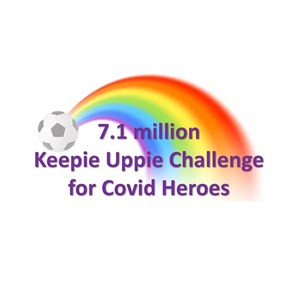 Keepie-uppies for SSAFA!